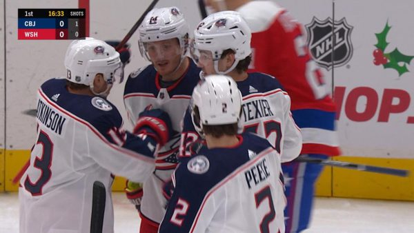 Korpisalo makes 37 saves, Blue Jackets defeat Capitals