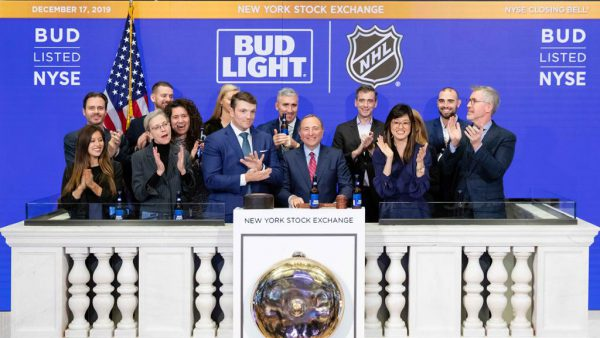 Bettman visits Stock Exchange, lauds NHL partnership with Anheuser-Busch