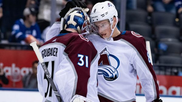 Makar, Grubauer day to day for Avalanche, wont play against Flames