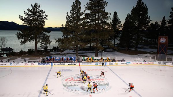 Flyers-Bruins at Lake Tahoe most watched regular-season NHL game on NBCSN