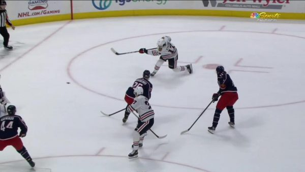 Blackhawks rally for win against Blue Jackets