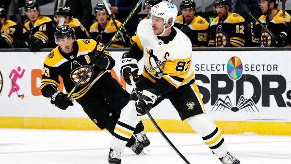 Trophy Tracker weekly division leaders include Marchand, Crosby