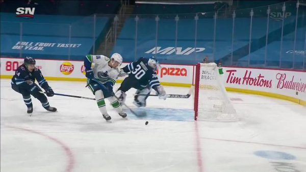 Jets fail to secure third in North Division with loss to Canucks