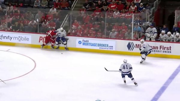Larkin suspended one game for actions in Red Wings game