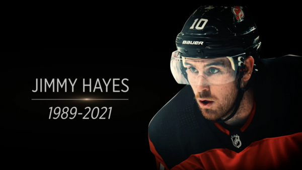 Hayes honored by Devils, Blackhawks, Flyers with numerous tributes