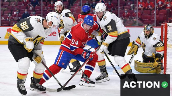 The Action Network: Golden Knights vs. Canadiens, Game 4 odds, analysis