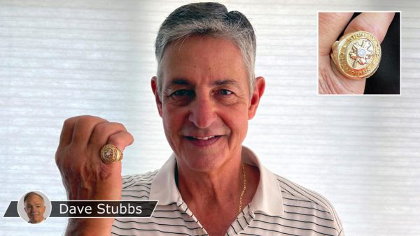 Sawchuks son treasures recreated Stanley Cup ring of Hall of Fame goalie