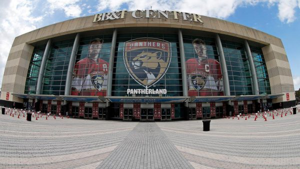 Panthers home temporarily renamed FLA Live Arena