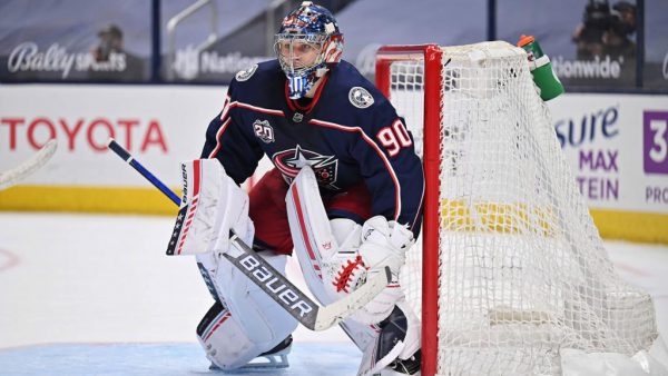 Merzlikins signs five-year, $27 million extension with Blue Jackets