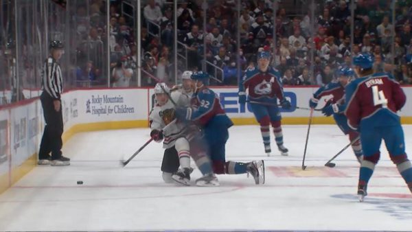 Landeskog suspended two games for actions in Avalanche game